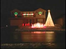 [HQ] Christmas Lights On a House with Music - Trans Siberian ...