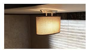 rv interior lights led dinette ceiling