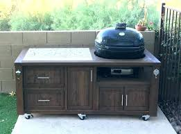 grill island grill cabinet outdoor kitchen rolling cart table bbq prep table grill island grill cabinet