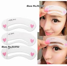 eyebrow shapes for different eyes. 3rd eye brow class drawing guide stencils 3 different shape eyebrow frame-in underwear from mother \u0026 kids on aliexpress.com   alibaba group shapes for eyes a
