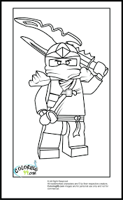 Blank Lego Minifigure Coloring Page Pages Chima Characters Ninjago ...