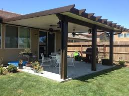 wood patio cover ideas. Wood-Grained Aluminum Solid Patio Wood Cover Ideas K
