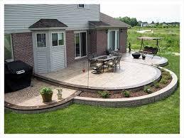 Beautiful Concrete Patio Designs Amazing Of Concrete Patio Designs