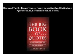 Download Inspirational Quotes Book