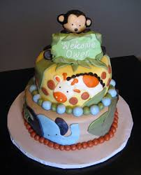Safarithemed Baby Shower Cake And Cupcakes  Simply Sweet Baby Shower Safari Cakes