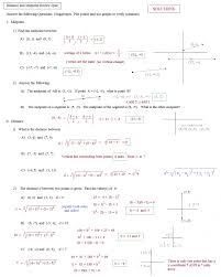 midpoint and distance formula worksheet worksheet template distance formula worksheet with answers free ideas