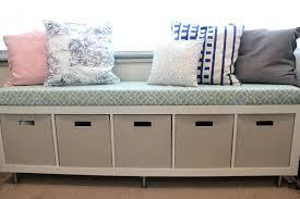 entryway storage bench ikea plans free bedinback