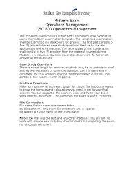 Qso600 Midterm Exam Inventory Test Assessment
