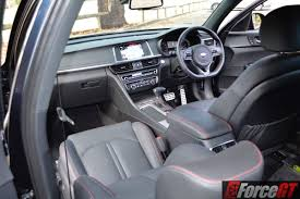 kia optima interior 2016. 2016 kia optima gt interior