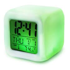 aliexpresscom  buy  color changing glowing digital alarm clock