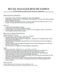 Cover Letter Retail Manager Retail Manager Cover Letter A Retail