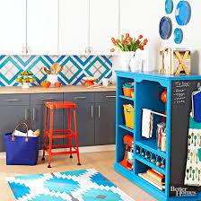 painted diy kitchen rug