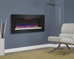 com classicflame 47ii100grg felicity 47 wall mounted infrared quartz fireplace black glass frame home kitchen