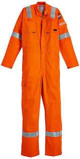 Roots Ro23095 Flamebuster Ii Hi Vis Arc Protection Flame Retardant Fr Coverall