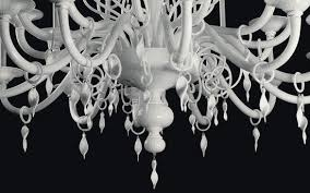 the sara chandelier features a clear glasilk white suspension d at 58 600 demajoillumione