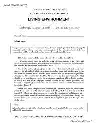 Living Environment