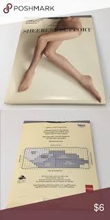 Worthington Tights Size Chart 68 Veracious Sheer Caress Size Chart