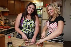 Kitchen mature friend milf red