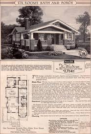 Craftsman style Bungalow   Sears Modern Home   Kit House   Walton Sears Modern Home   Walton