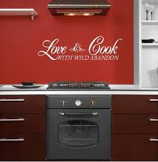 kitchen wall quotes sayings words