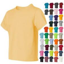 Jerzees Heavyweight Blend Size Chart Details About Jerzees Boys Kids Girls Tees Heavyweight Blend 50 50 Youth T Shirt