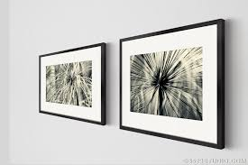 stylish inspiration ideas wall art set of 2 home pictures flower power collection matching piece black