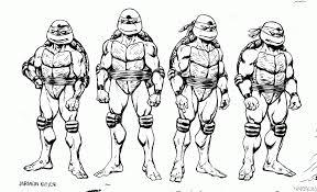 Coloring Inspirations Christmas Teenage Mutant Ninja Turtles