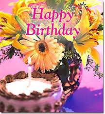 Happy Birthday Virtual Flowers And Cake By 800florals