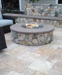 outdoor stone fire pit. Gas Fire Pits Outdoor Stone Pit A