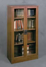 Bookshelves Rectangle Black Wooden Bookshelf Sliding Glass Door Furniture  Dark Brown Many Shelves Lift Oak Barrister Bookcase Teak Wood
