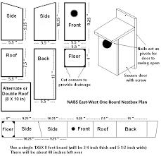Free Bird House Plans Bluebird Purple Martin Wren More