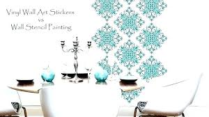 large wall stencil stencils for painting free tree patterns walls geometric uk fl australia
