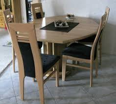 Esszimmertisch 5 Stühle Erle Massiv Ausziehbar 115x126 115x155