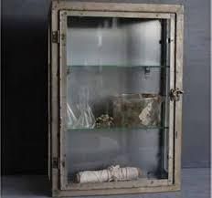 rustic metal wall cabinet with glass door rustic medicine cabinet