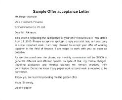 Job Offer Acceptance Letter Reply Salary Negotiation Famous See
