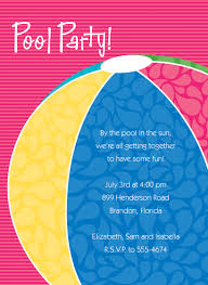 swimming pool beach ball background. Full Size Of Splash Party Invitation Custom Printable Or Swim Beach Ball Birthday Invitations Swimming Pool Background