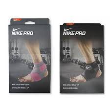 Details About Nike Pro Ankle Wrap 2 0 Ap Strap Combat Sleeve Supports Compression Black Pick 1