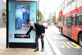 Marketing Vending Machines Stunning Walkers Installs Three TwitterActivated Vending Machines In London