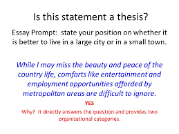 developing a thesis statement ppt  4 is