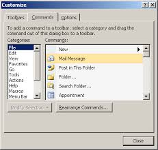 Create Outlook Message Template How To Create Toolbar Button For New Message Template