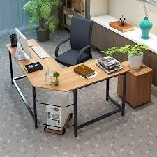 tetrick l shaped computer desk