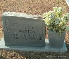 Ola Hamilton Weston (1911-1998) - Find A Grave Memorial
