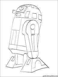 R2 D2 Star Wars Kleurplaat Gratis Kleurplaten