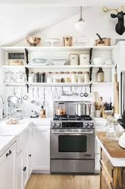 popular open shelving kitchen shelf decor ideas