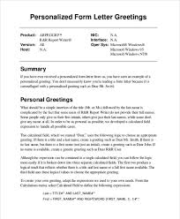 Letter Greetings Delectable Business Letter Greetings Samples Greeting Sample With Flexible Also