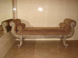 full size of classical brown fl damask velvet sofa bed hand carved wooden frame for daybed