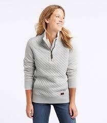 Women's Quilted Quarter-Zip Pullover &  Adamdwight.com