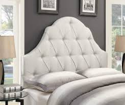 White and white furniture Leather Sizes 2 21999 White Button Tufted Upholstered Headboards Ethan Allen Bedroom Furniture Sets Headboards Dressers And More Big Lots