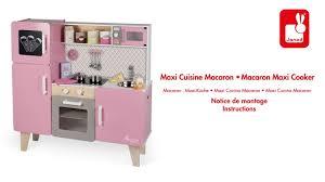 Maxi Cuisine Macaron Janod Notice De Montage Youtube
