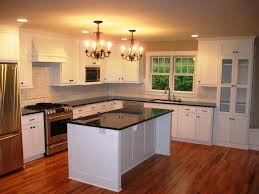 image of repainting kitchen cabinets white